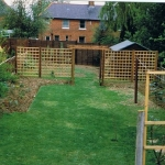 My UK garden in 1997