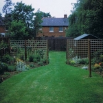 My UK garden in 1998
