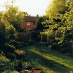 My UK garden in 2007 when I left