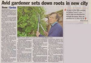 Calary Gardens in Border Watch